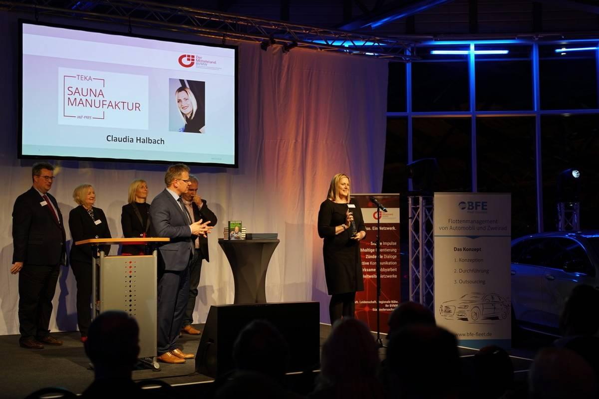 Claudia Halbach BVMW Unternehmerin des Jahres