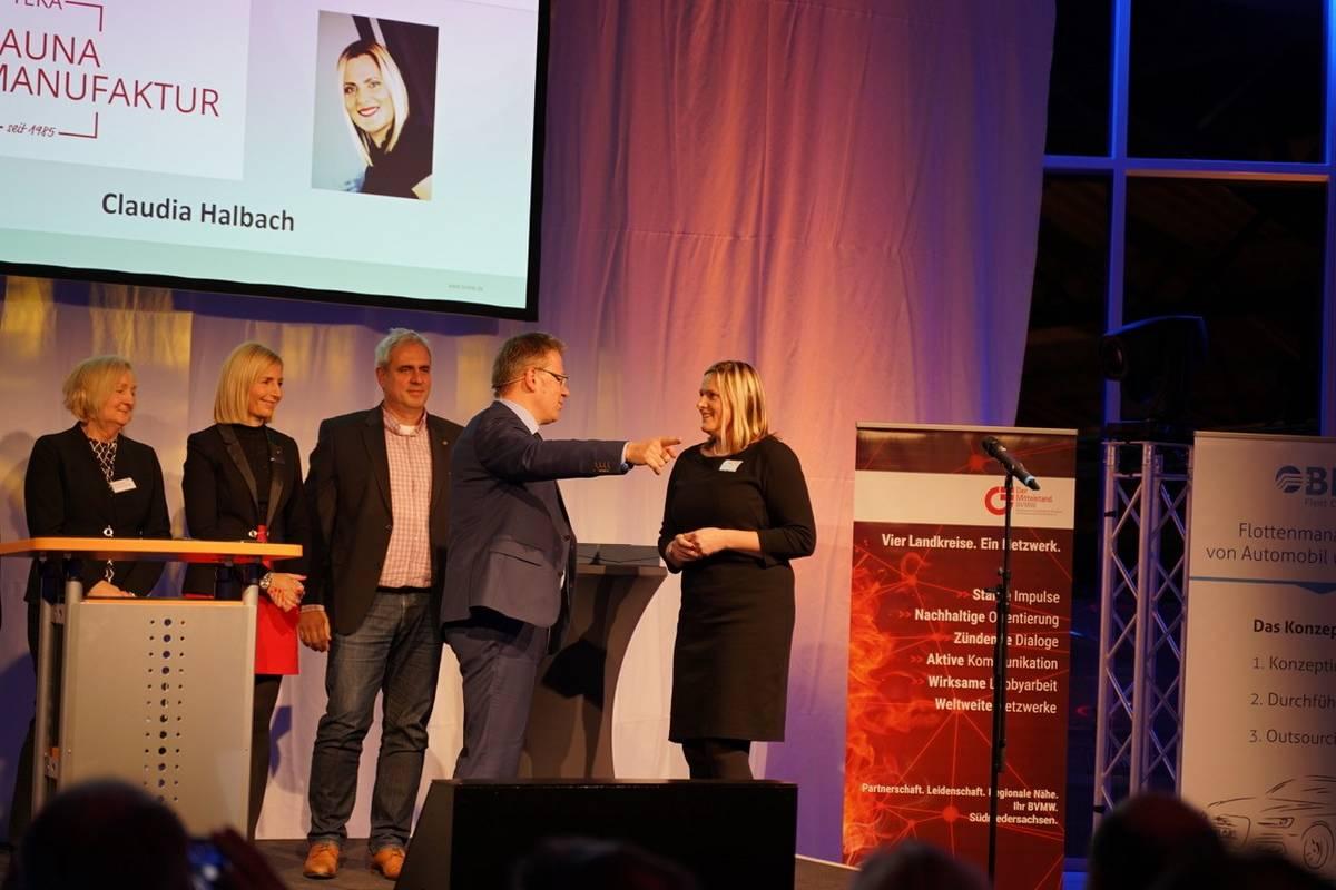 Claudia Halbach Unternehmerin des Jahres