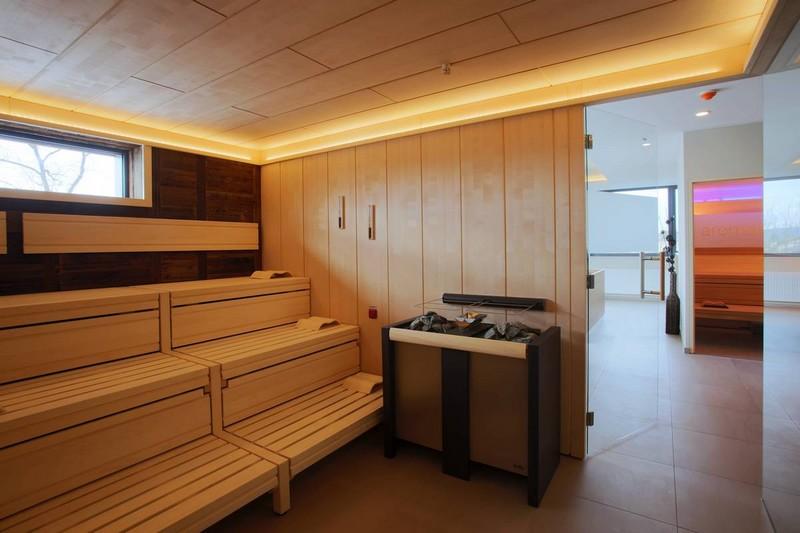 Sauna für Gewerbe